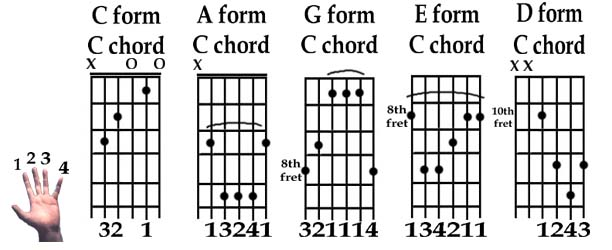Caged Chords Explained
